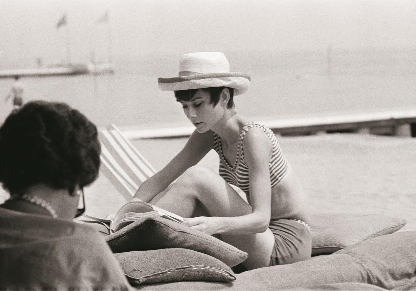 오드리 헵번과 안드레아 도티, 1969년 5월 오드리 헵번은 가족, 그리고 친구들과 자주 여행을 했다.
