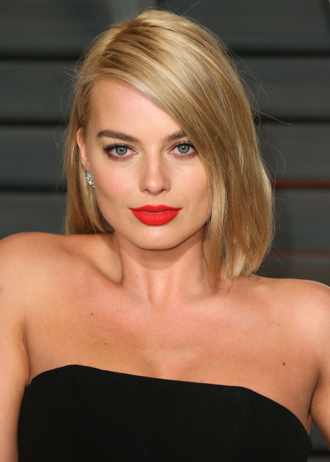 Actress Margot Robbie arrives at the 2015 Vanity Fair Oscar Party held at the Wallis Annenberg Center for the Performing Arts on February 22, 2015 in Beverly Hills, California, United States.   Pictured: Margot Robbie Ref: SPL960714 220215 NON-EXCLUSIVE Picture by: SplashNews.com  Splash News and Pictures Los Angeles: 310-821-2666 New York: 212-619-2666 London: 0207 644 7656 Milan: +39 02 56567623 photodesk@splashnews.com  World Rights