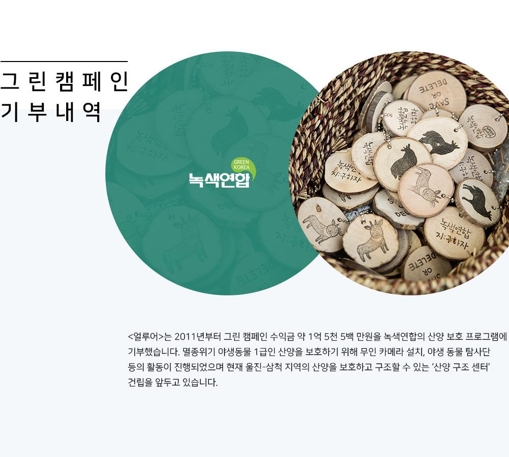 그 린 캠 페 인 기 부 내 역