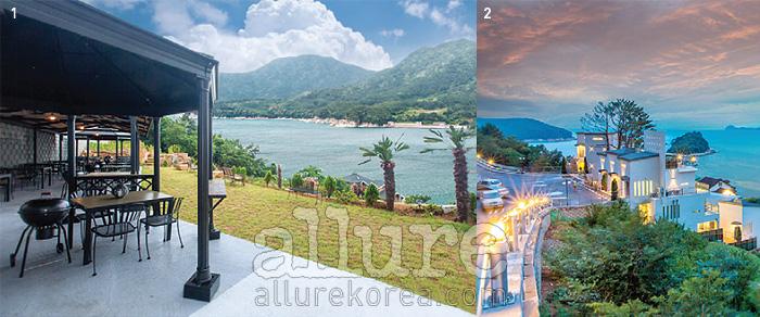 1 친환경적 건축 디자인이 돋보인다2 그림 같은 까사델피노의 풍경