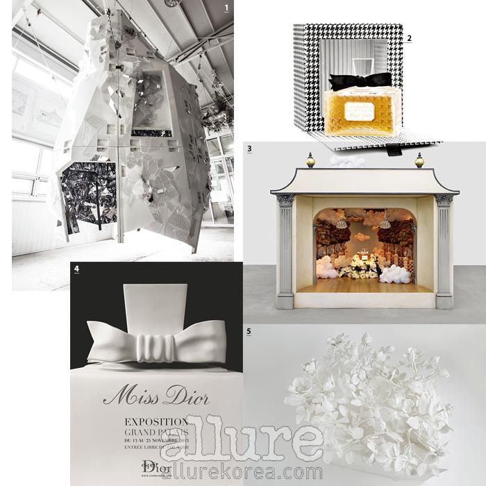 1 이불의 작품 2 작품의 모티브가 된 미스 디올 3 카렌 킬림니크의 작품 4 전시회를 알리는 포스터 5 칼라 마티의 작품