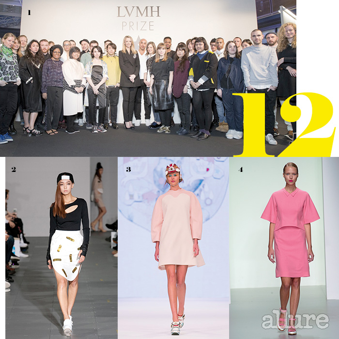 1 준결승에 진출한 30명의 디자이너들. 2 스트리트 웨어를 시크하게 풀어내는 계한희의 룩. 3 지난해 H&M 디자인 어워드에서 우승하며 주목받은 김민주의 룩. 4 런던 패션 위크에서 점차 인지도를 넓혀가고 있는 이정선의 룩.