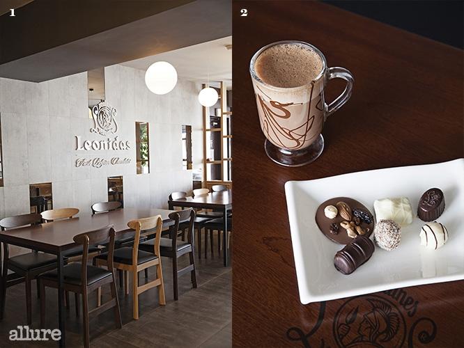 1 넓은 공간에서 맘껏 초콜릿을 탐하자 2 레오니다스 오리지널과 초콜릿