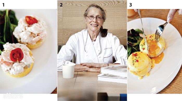1새우살이 풍성하게 씹히는 쉬림프 롤 오픈 샌드위치 2사라베스 레빈 3따뜻한 달걀 노른자가 흘러내리는 클래식 에그베네딕트
