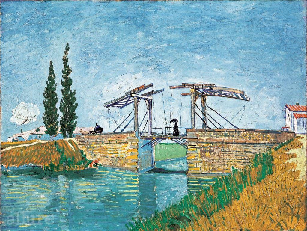 Wallraf-Richartz-Museum & Fondation Corboud, Koeln, Vincent van Gogh, Die Zugbrücke, WRM 1197