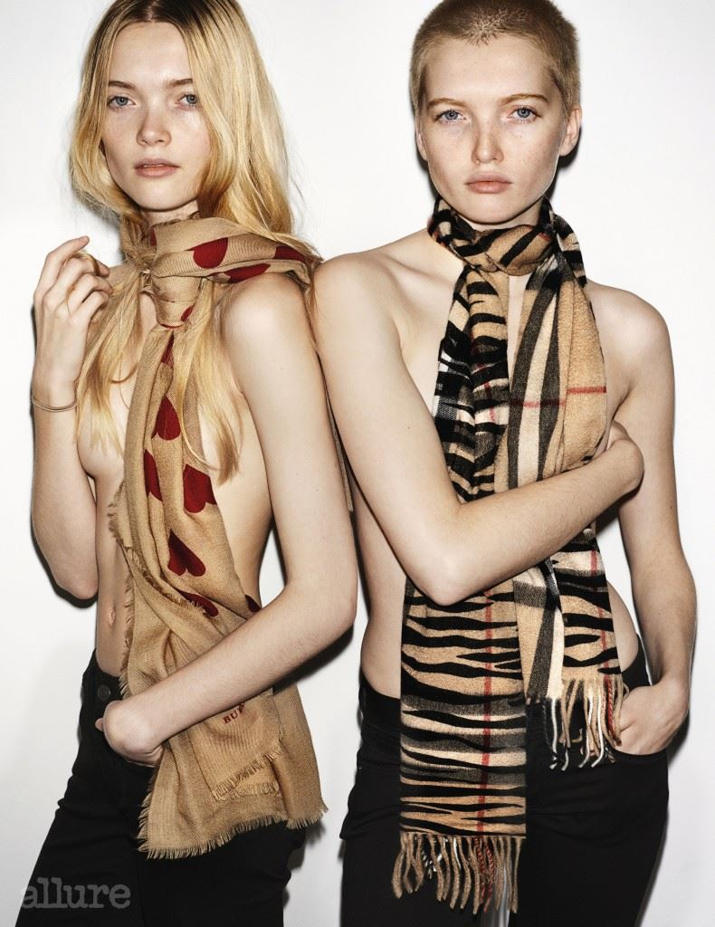 May and Ruth Bell in the Burberry Spring_Summer 2016 Campagi