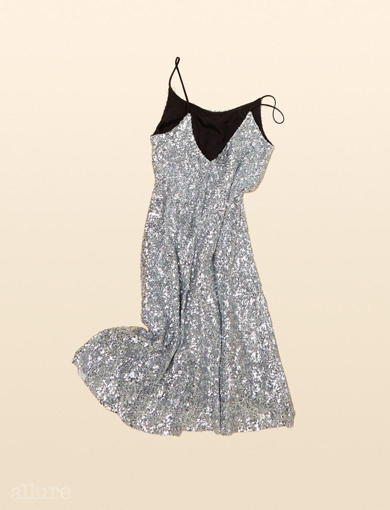 시퀸 소재 슬립 드레스는 가격미정, 프리마돈나 (Fleamadonna).