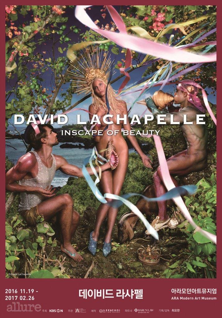 데이비드 라샤펠 ; INSCAPE OF BEAUTY(Main Visual)