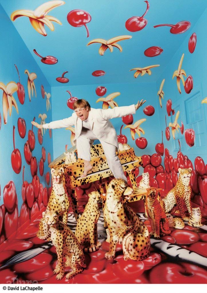 ⓒ David LaChapelle _ Elton John Never, Enough, Never Enough; New York, 1997