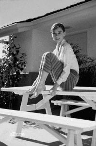 British actress Audrey Hepburn (Photo by Sunset Boulevard/Corbis via Getty Images)