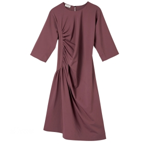 울과 나일론 혼방 소재 드레스는 1백58만원, 르메르(Lemaire).