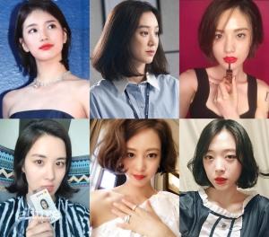 (왼쪽부터 시계방향) 수지, 정려원, 나나, 설리, 한예슬, 서현